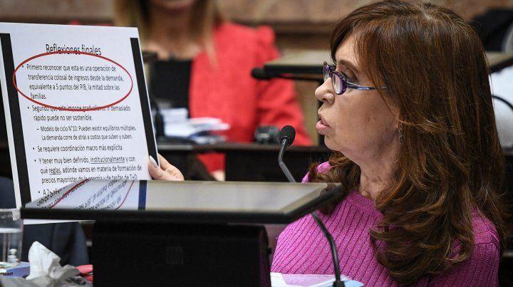 El Senado puso condiciones para aprobar los allanamientos a Cristina