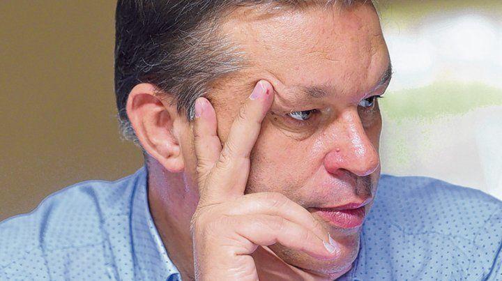 Piloteó la gestión. El secretario Juan José Concina fue el encargado de militar el reclamo leproso.