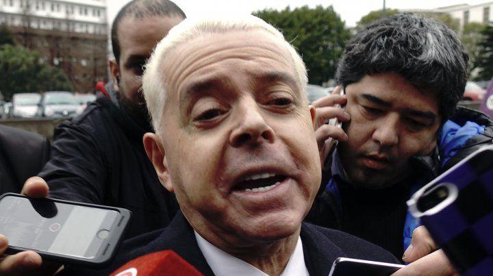 El exjuez federal Noberto Oyarbide declaró hoy en la causa de los cuadernos de la corrupción K.
