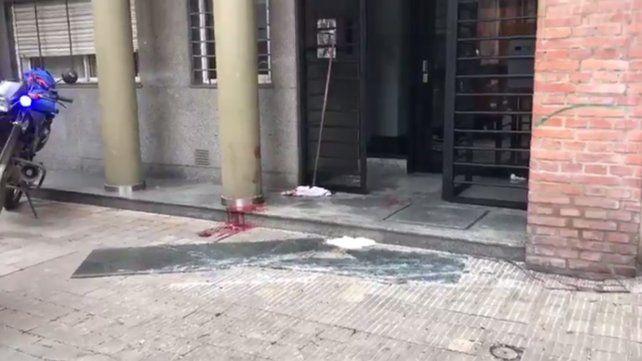 Una mujer resultó herida al caer un vidrio por el fuerte viento en Ayacucho al 1300