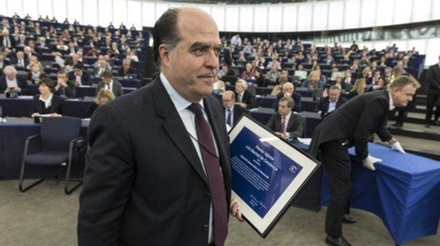 Distinguido. Borges es una de las principales figuras de la oposición. En diciembre de 2017 recibió el premio Sajarov.