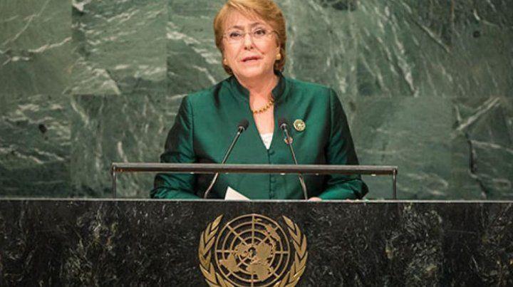 Bachelet ya trabajó antes en la ONU: en 2010 se convirtió en la primera  directora de ONU Mujeres.