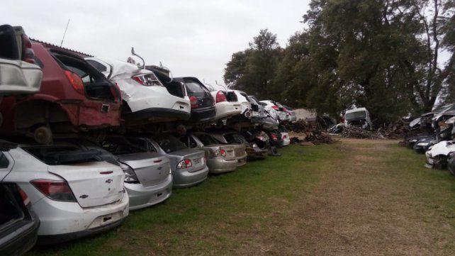 Secuestraron más de un millón de autopartes en operativo múltiple en Santa Fe