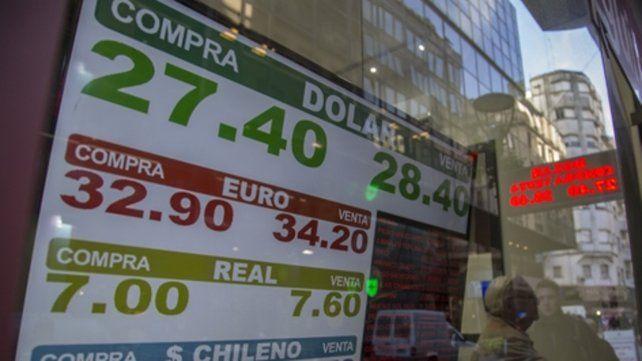 Mercados. La demanda de dólares repuntó en los últimos días.
