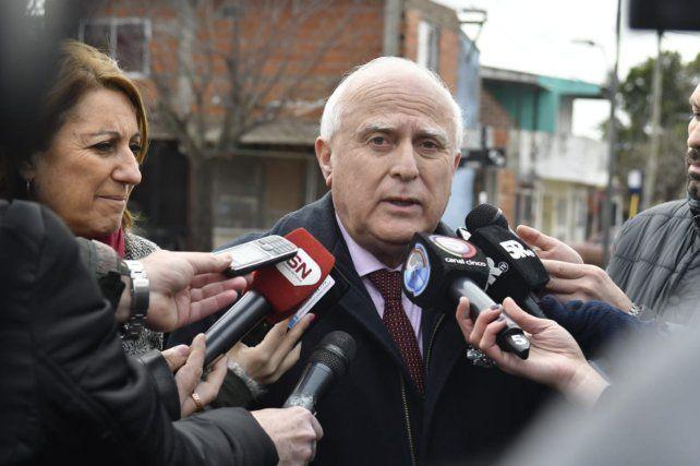 El gobernador opinó sobre el debate por el aborto legal.