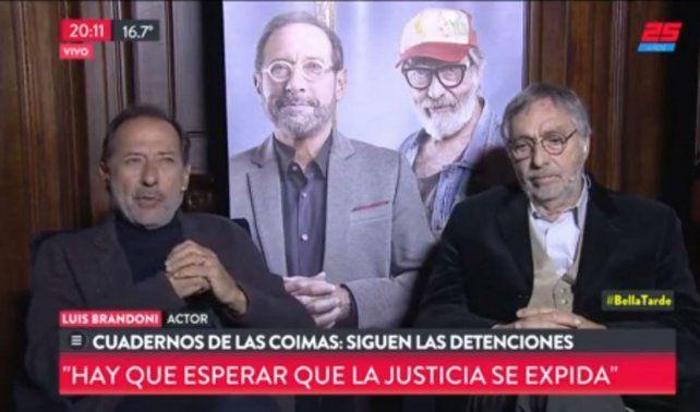 Francella le respondió a Nelson Castro al ser consultado por los cuadernos.