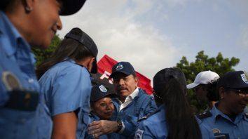 Ortega alegó que de su cifra total de 195 muertos, 22 eran policías y 44 eran activistas sandinistas.