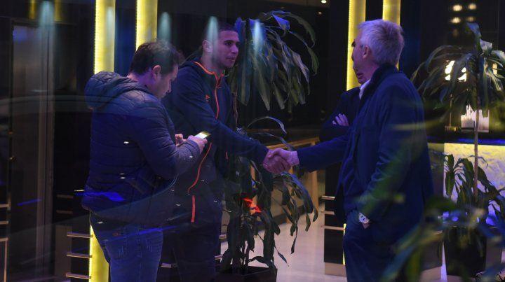 El uruguayo Arismendi llegó a Rosario para sumarse al Central de Bauza