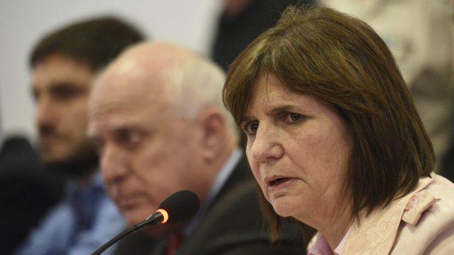 La ministra de Seguridad estará mañana en Rosario.
