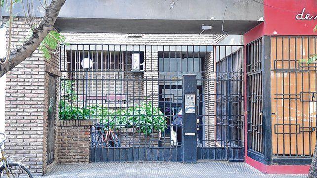 Montevideo 1040. El 29 de mayo balearon un edificio donde Manfrín había vivido hace 30 años