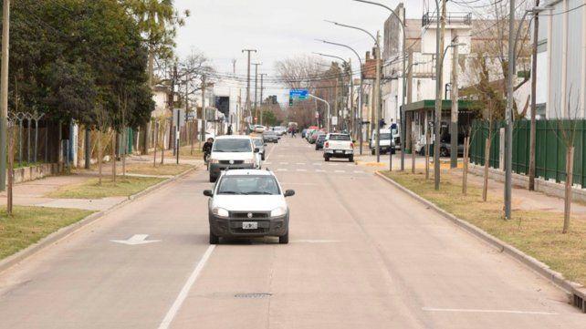 Habilitaron la reforma integral de avenida Junín en la zona noroeste