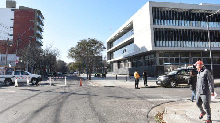 Bullrich y Lifschitz recorren el Centro de Justicia Penal