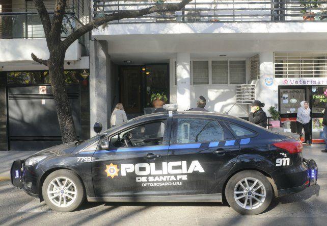 Siete balazos. Los disparos fueron contra el edificio de Buenos Aires 1743. Al lado vive Horacio Usandizaga.