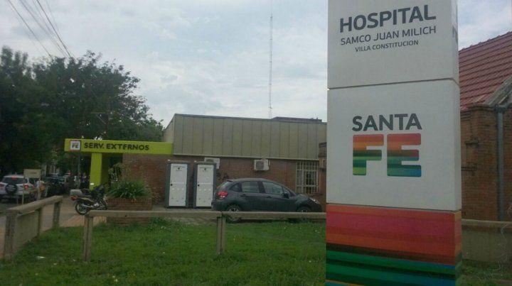 Los heridos fueron derivados al Hospital Samco de Villa Constitución.