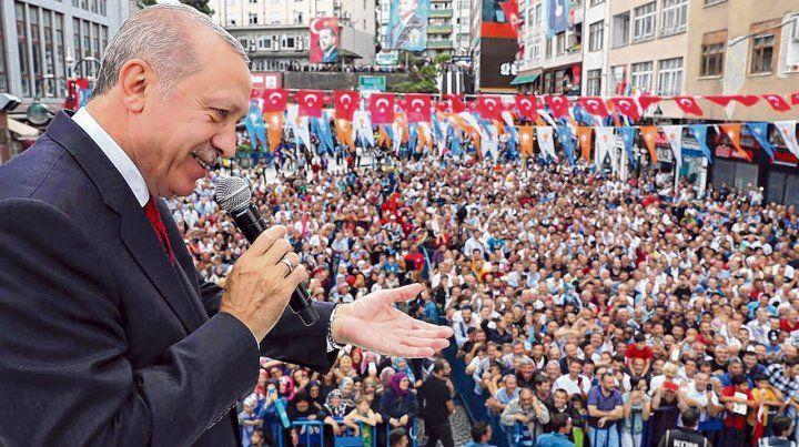 Confrontación. Erdogan lanzó duras acusaciones contra Estados Unidos