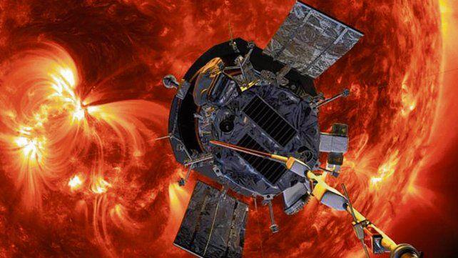 Al espacio. Ilustración de la nave que pasará a 6