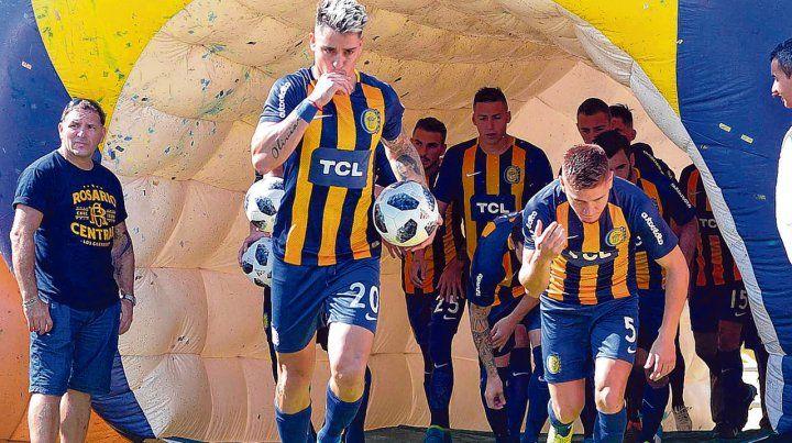 Artillero letal. El entrerriano Fernando Zampedri es la principal carta de gol en el elenco canalla.