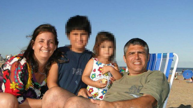 Una imagen de la familia durante un período de vacaciones.
