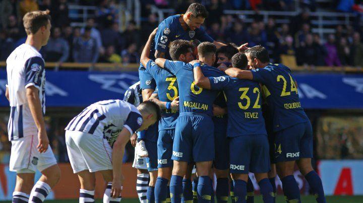 Boca logró un ajustado triunfo por 1 a 0 frente al duro Talleres