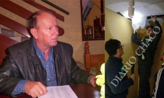 El polémico intendente de Villa Río Bermejo. (Foto. diario Chacho)