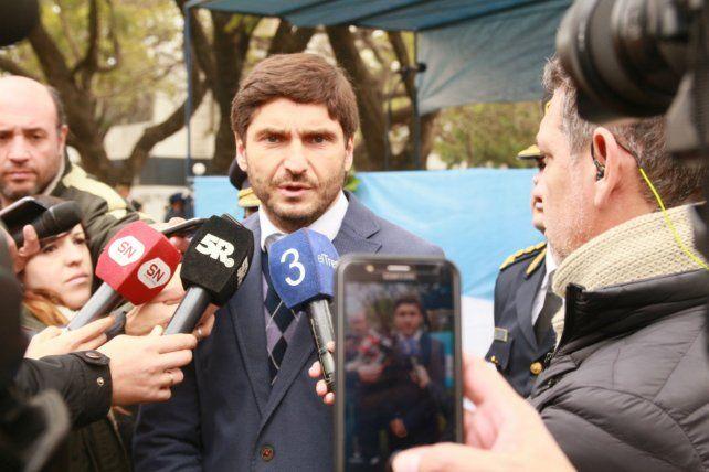 Pullaro dijo que no sabe cuál será el límite de los autores de los atentados a magistrados