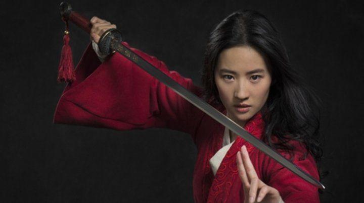 Protagonista. La actriz Liu Yifei.