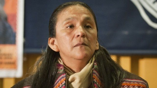 Milagro Sala. La dirigente social lleva dos años y medio detenida.