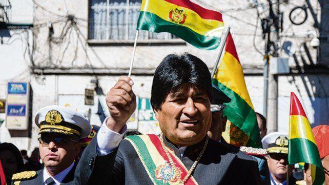 Evo Morales. Intentarán una convulsión nacional