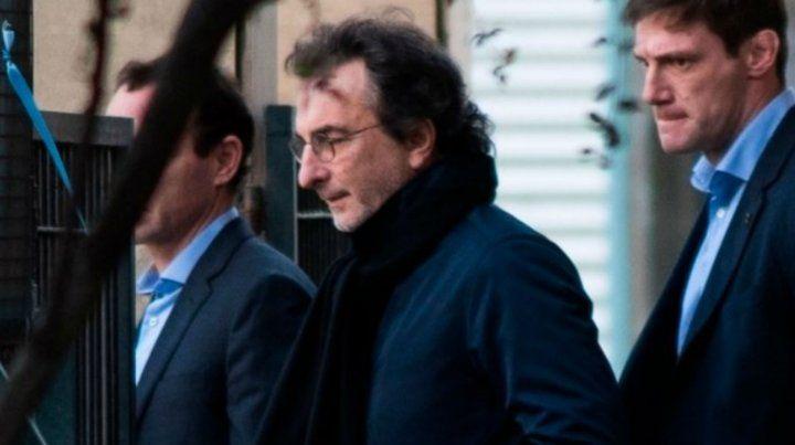 Angelo Calcaterra declara en Comodoro Py.