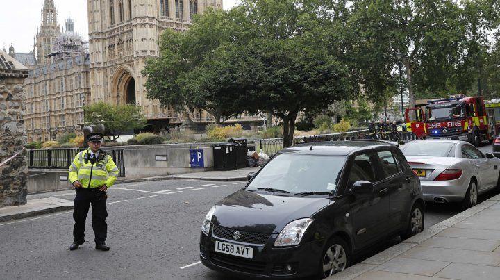 Atentado contra el Parlamento británico en Londres