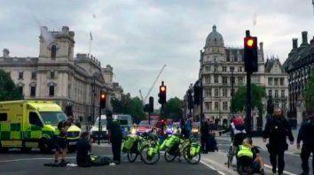 Pánico y heridos por un atentado frente al Parlamento de Londres