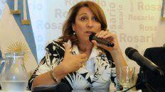 La intendenta Mónica Fein cuestionó el fin del fondo sojero.