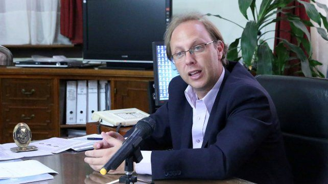 Saglione dijo que la eliminación del fondo sojero condiciona la finalización de obras
