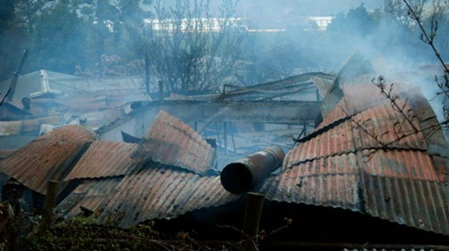Chiguayante.El fuego arrasó con una habitación del geriátrico.