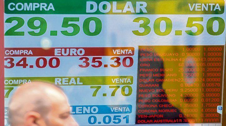 Divisas. El mercado movió mucho volumen. El Banco Central renovó una porción baja de Lebac