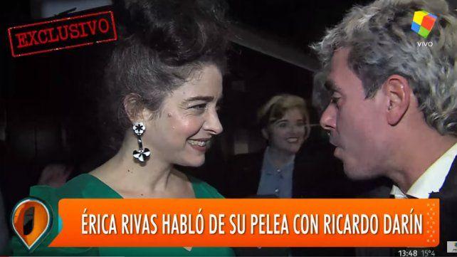 Me entristeció que haya colegas que apoyaran a Ricardo Darín, dijo Erica Rivas