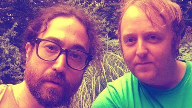 Revuelo por la foto de los hijos de John Lennon y Paul McCartney