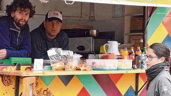 Pasar el invierno. Los food trucks tienen que rotar por cuatro parques. También participan de eventos.