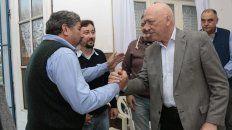 Bonfatti visitó El Trébol, donde mantuvo encuentros con referentes políticos y de instituciones del departamento San Martín.