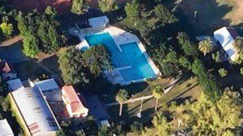 Fatal. La tragedia ocurrió el 6 de febrero último en el natatorio de Roldán..