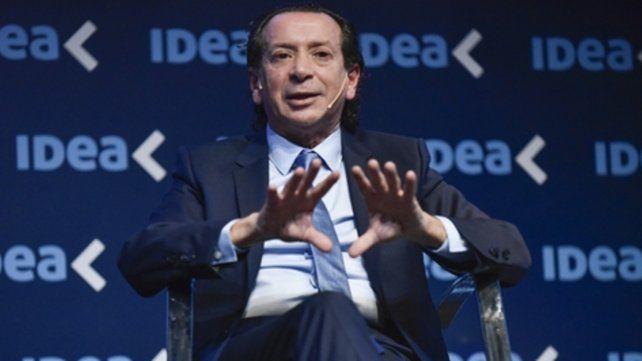 Encuentro. Sica fue el representante del gobierno nacional en el precoloquio de Idea realizado en Rosario.