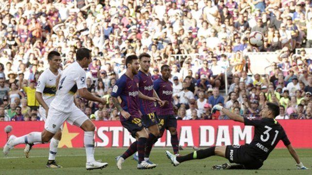 Ya definió. Messi anotó el segundo tanto de Barcelona