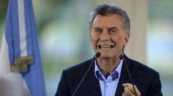 Macri dijo que el país atraviesa una tormenta de frente