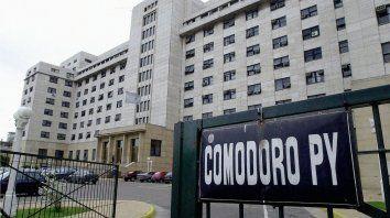 Los tribunales federales de Comodoro Py.