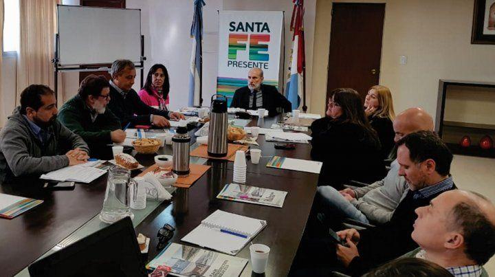 El Comité Mixto Provincial de Salud y Seguridad trató la problemática de la infraestructura escolar en la región.
