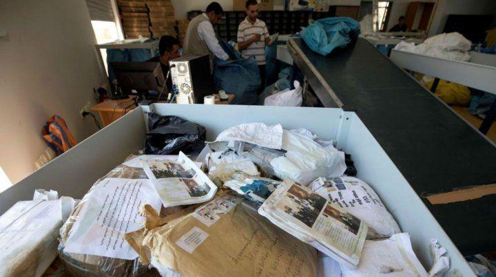 Israel retenía las cartas desde 2010.