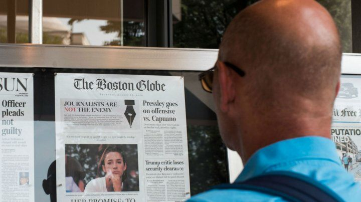 The Boston Globe impulsó la respuesta conjunta contra Trump