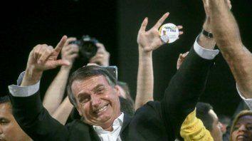 Si Lula no es candidato, el favorito en los sondeos es el candidato ultraderechista Jair Bolsonaro.