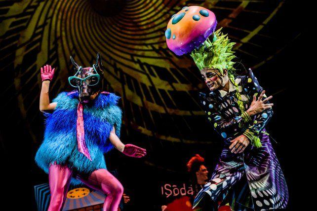 El rito. El show está inspirado en la música de Soda Stereo.