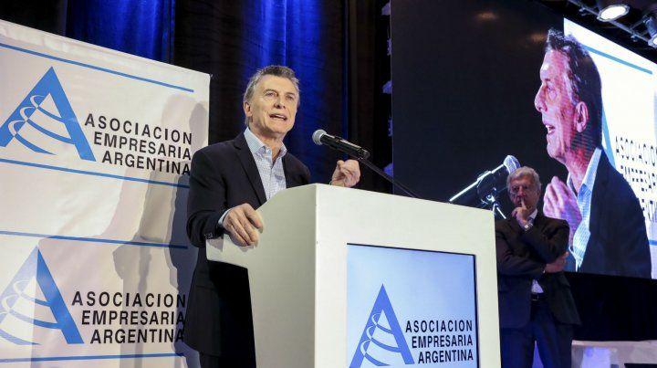 Macri admitió ante los industriales que comparte las preocupaciones y las dudas del momento.